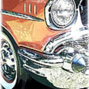 1957 Chevy Print by Steve McKinzie