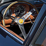 1963 Apollo Steering Wheel     Print by Jill Reger