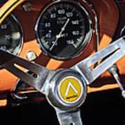 1963 Apollo Steering Wheel 2 Print by Jill Reger