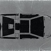 1972 Maserati Boomerang Print by Naxart Studio