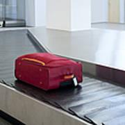 Airport Baggage Claim Print by Jaak Nilson