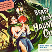 Beast From Haunted Cave, Sheila Carol Print by Everett
