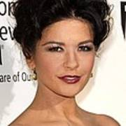 Catherine Zeta-jones At Arrivals Print by Everett