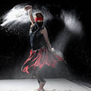 Flour Dancer Series Print by Cindy Singleton