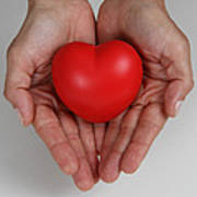 Heart Disease Prevention Print by Photo Researchers, Inc.