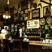 Historic Niles District In California Near Fremont . Bronco Billys Pizza Palace . 7d10707 Print by Wingsdomain Art and Photography