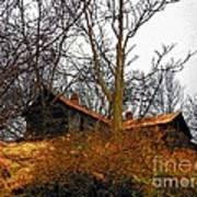 House On The Hill Print by Joyce Kimble Smith