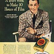 Lucky Strike Cigarette Ad Print by Granger
