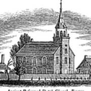 New Jersey: Church, 1844 Print by Granger