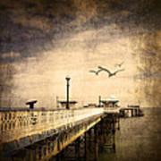 Pier Print by Svetlana Sewell