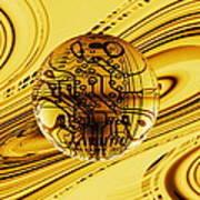 Quantum Computing Print by Mehau Kulyk