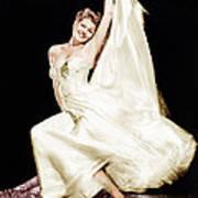 Rita Hayworth, 1940s Print by Everett