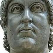 Rome Italy. Capitoline Museums Emperor Marco Aurelio Print by Bernard Jaubert