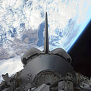 Space Shuttle Endeavours Payload Bay Print by Stocktrek Images