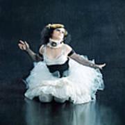 Vintage Dancer Series Print by Cindy Singleton