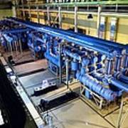 Electricity Substation Print by Ria Novosti