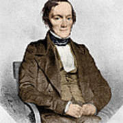 Richard Owen, English Paleontologist Print by Science Source