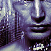 Artificial Intelligence Print by Coneyl Jay
