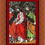 Drumul Crucii - Stations Of The Cross  Print by Buclea Cristian Petru