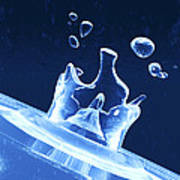 Water Drop Impact Print by Pasieka
