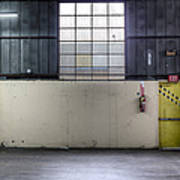 An Empty Industrial Building In Los Print by Dan Kaufman