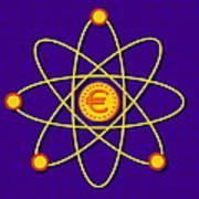Atomic Structure Print by David Nicholls