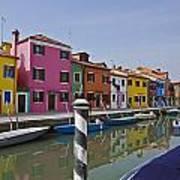 Burano - Venice - Italy Print by Joana Kruse