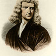 Isaac Newton, English Polymath Print by Science Source