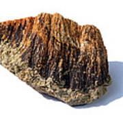 Rock From Meteorite Impact Crater Print by Detlev Van Ravenswaay
