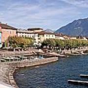 Ascona - Ticino Print by Joana Kruse