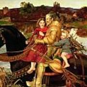 A Dream Of The Past Print by Sir John Everett Millais