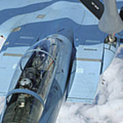A Kc-135 Stratotanker Provides Print by Stocktrek Images
