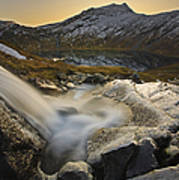 A Small Creek Running Print by Arild Heitmann