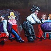 A Waiter's Revenge - Silent But Deadly Print by Alison  Galvan