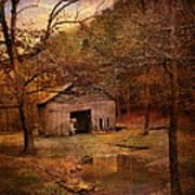 Abandoned Barn Print by Jai Johnson