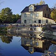 Abbotts Mill Print by Brian Wallace