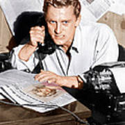 Ace In The Hole, Kirk Douglas, 1951 Print by Everett