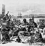 Africa: Slave Trade, C1840 Print by Granger