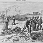 African American Gathering The Dead Print by Everett