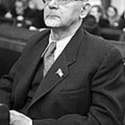 Aleksandr Arbuzov, Soviet Organic Chemist Print by Ria Novosti