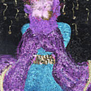 Althea Survives Print by Annette McElhiney