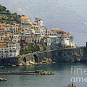 Amalfi Daytime Scenic Print by George Oze