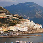 Amalfi Print by Bill Cannon