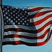 America The Beautiful Print by Daniel W Green