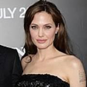 Angelina Jolie At Arrivals For Salt Print by Everett