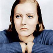 Anna Christie, Greta Garbo, Portrait Print by Everett