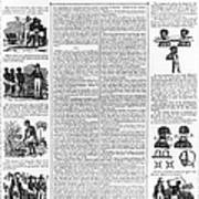 Anti-slavery Broadside Print by Granger