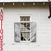 Antique Store Facade Print by Jeremy Woodhouse