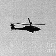 Apache Attack Helicopter Print by Darren Burroughs