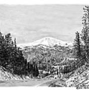 Apache Summit Siera Blanco Print by Jack Pumphrey